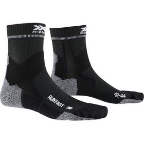 X-Socks Run Fast Calcetines, negro